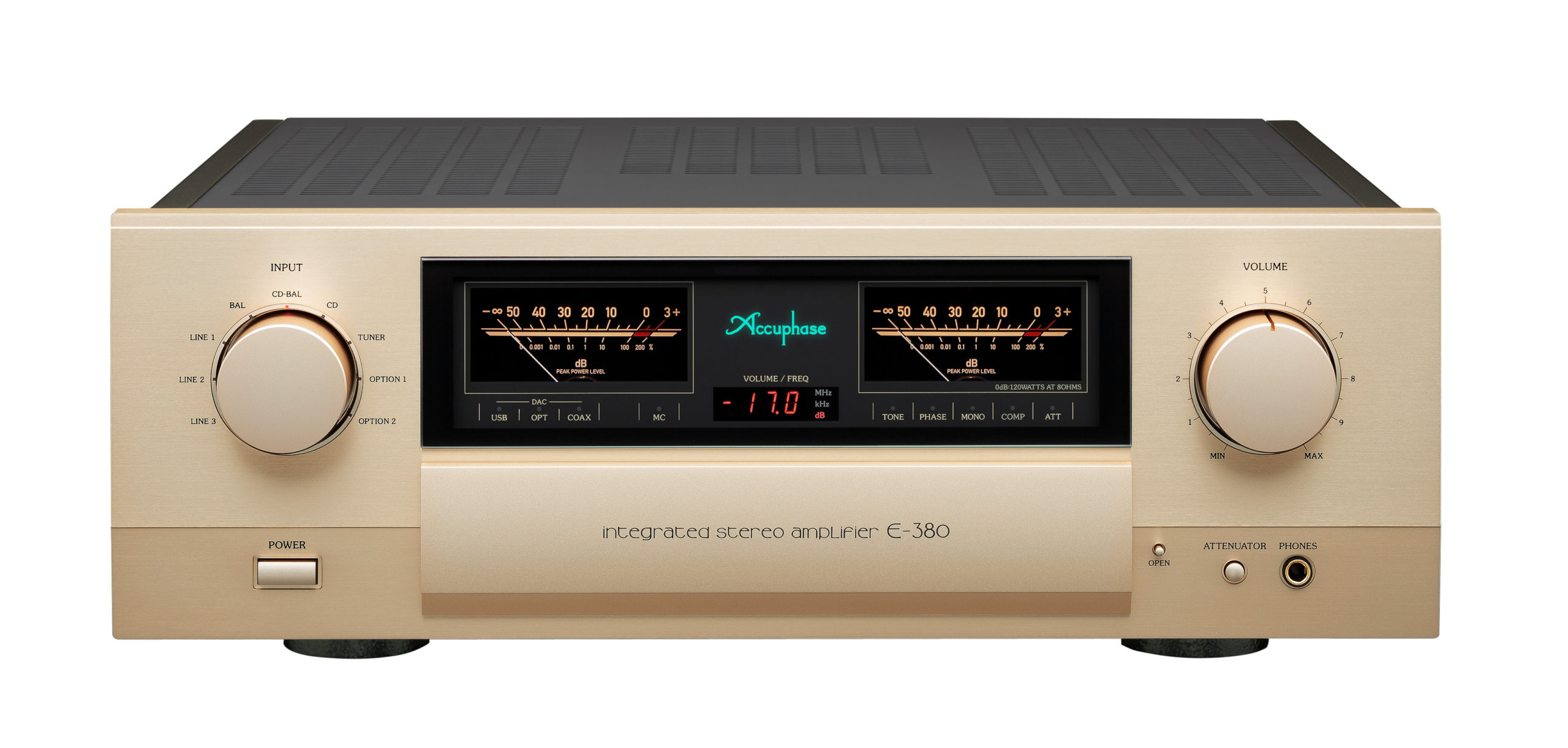Accuphase E-380 versterker